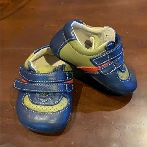 Worn once! 0-6 month Smaller by See Kai Run shoes